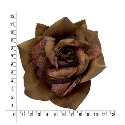 2038-6104 Брошь-цветок, 12 см, упак./12 шт.
