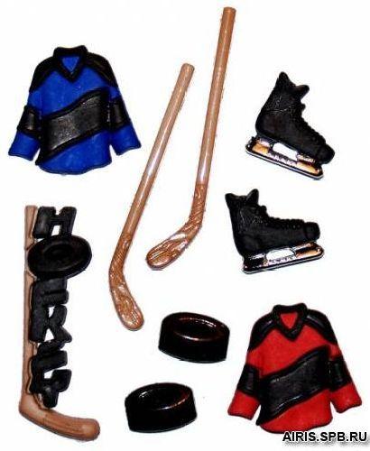 1294, Фигурки. Хоккей Dress It Up
