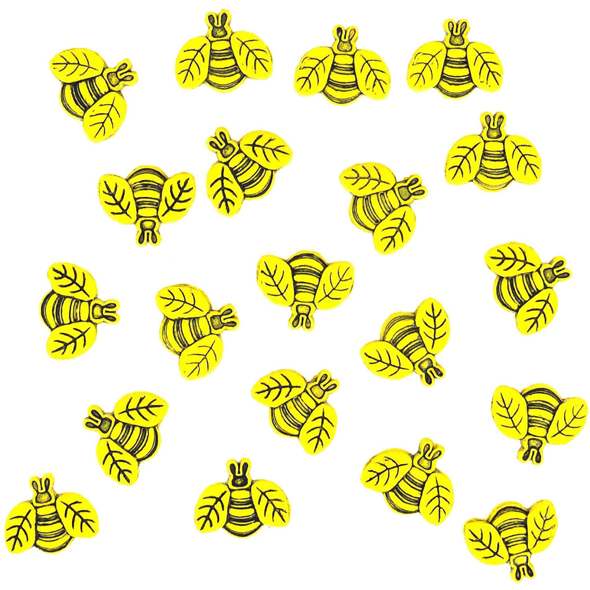 1858, Пуговицы-фигурки. Пчелы Dress It Up