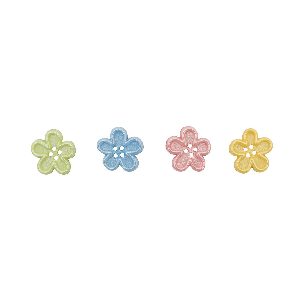 5387, Декоративные пуговицы. Цветы Dress It Up