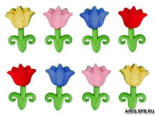 5932, Фигурки. Апрельские цветы Dress It Up