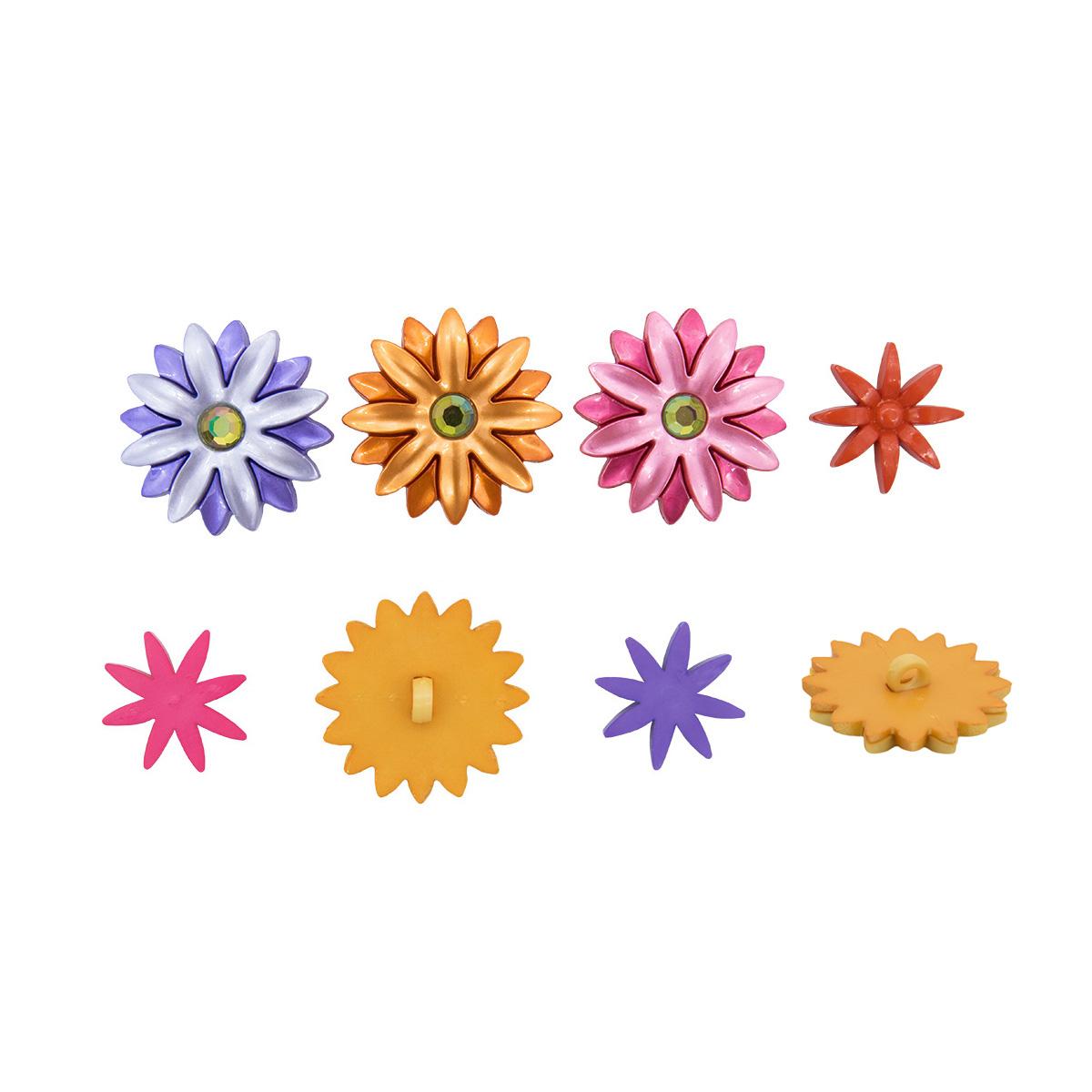 5384, Пуговицы-фигурки. Цветы Dress It Up