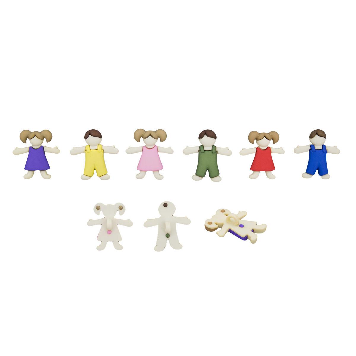 5422, Пуговицы-фигурки. Детский Dress It Up