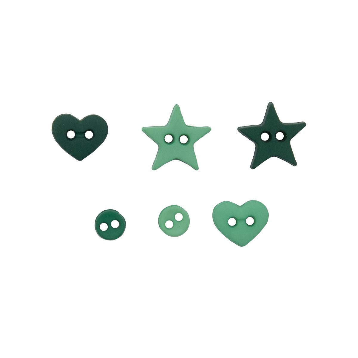 3254, Декоративные пуговицы. Форма зеленого Dress It Up