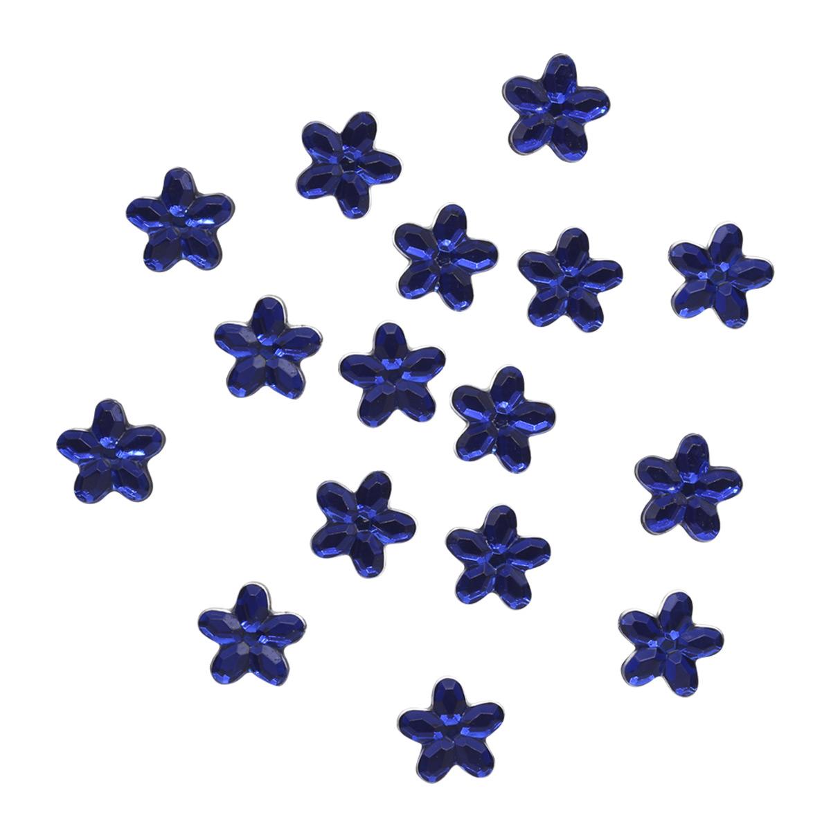 Украшение. Королевские голубые цветы, 3813 Dress it up