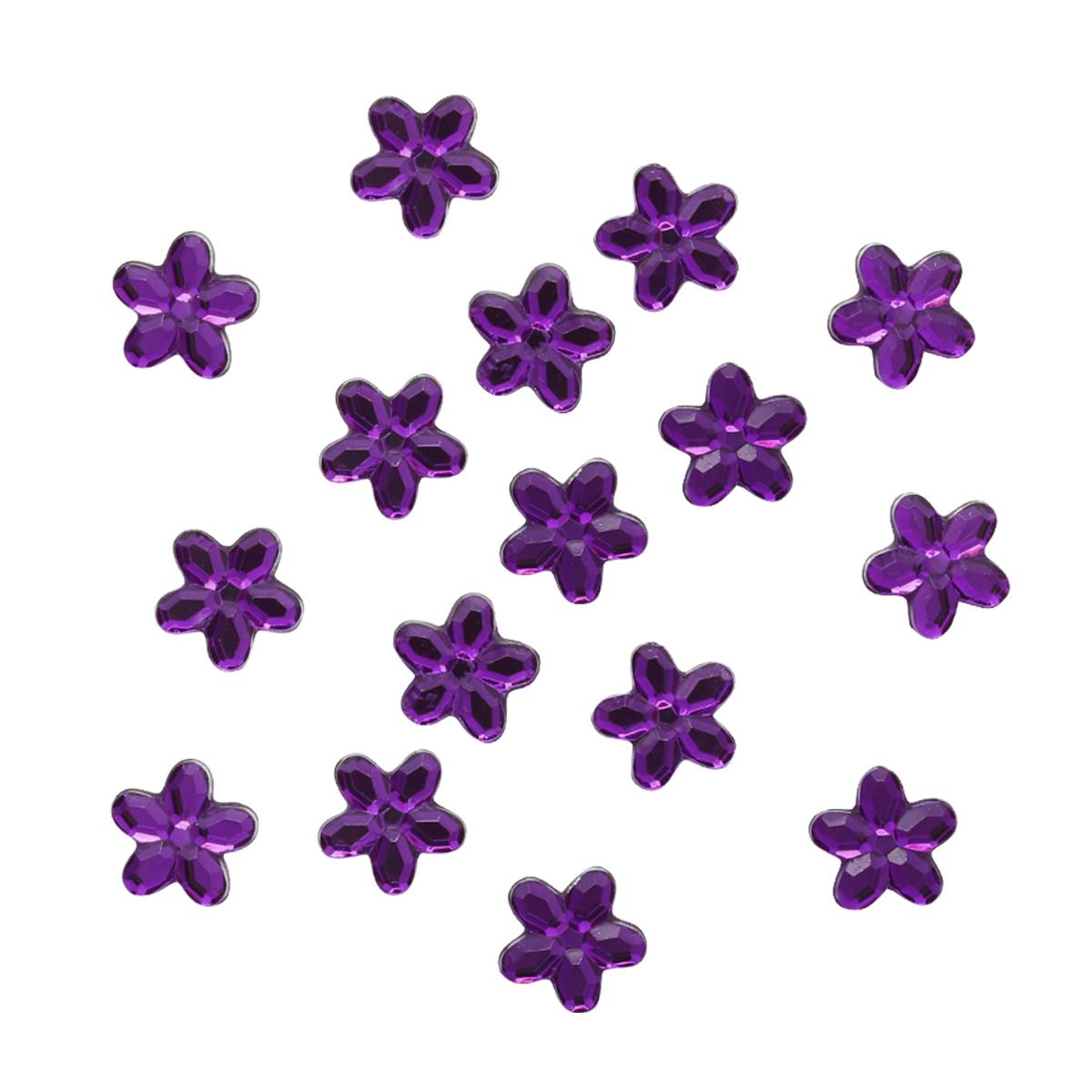 Украшение. Фиолетовые цветы 3817 Dress it up