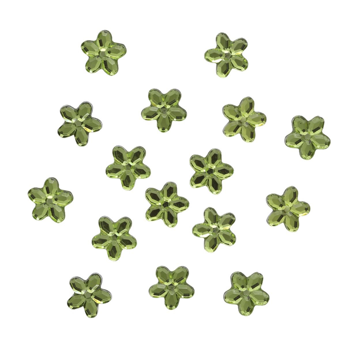 Украшение. Зеленые цветы, 3814 Dress it up