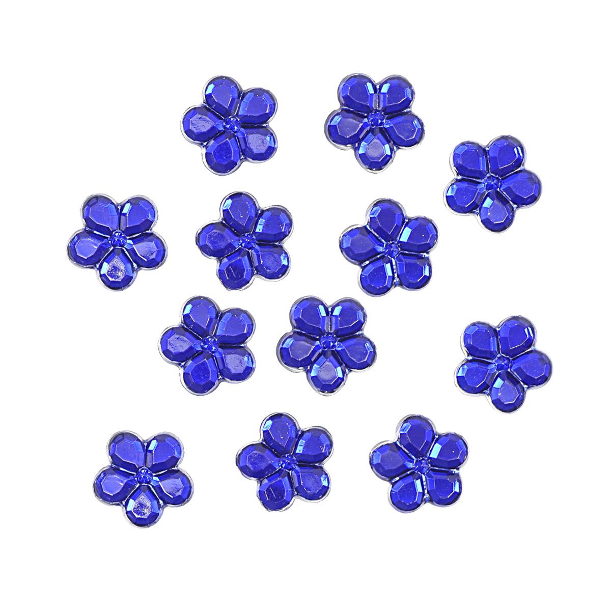 Украшение. Королевские голубые цветы, 3823 Dress it up