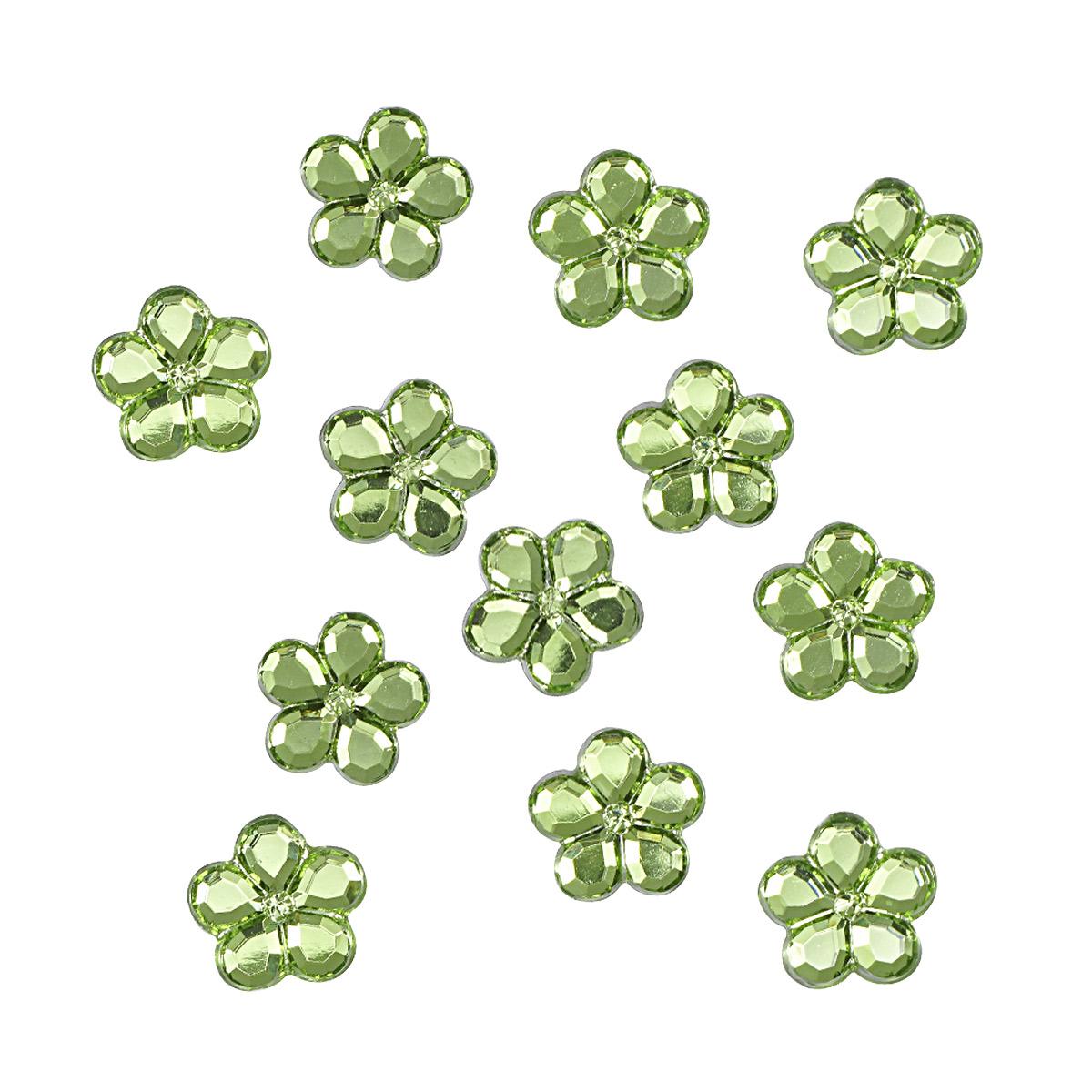 Украшение. Зеленые цветы, 3824 Dress it up