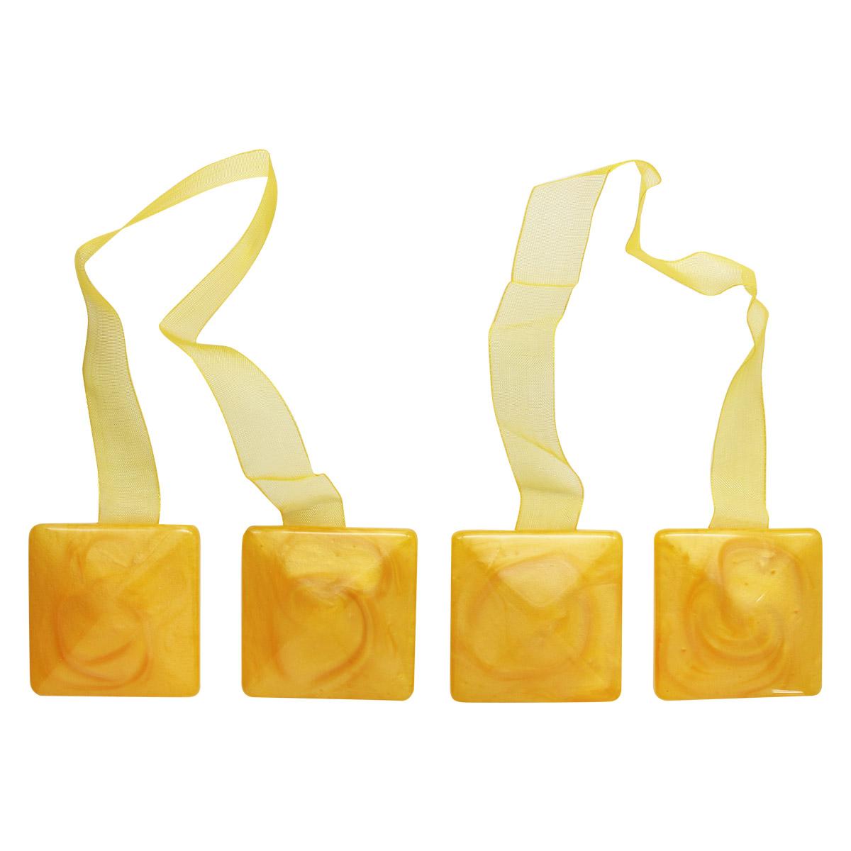Клипса-магнит PA083 для штор1 (2 желтый)