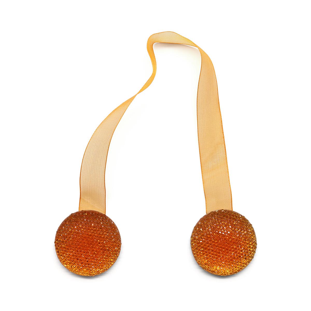 Клипса-магнит PA076 для штор (15 оранжевый)