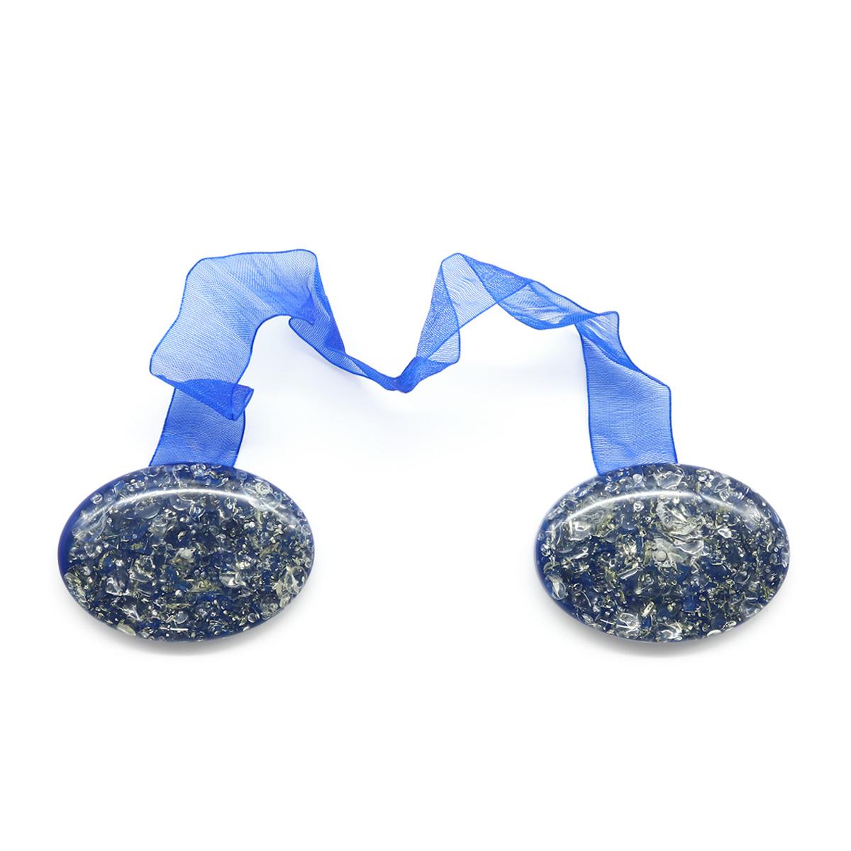 Клипса-магнит PA081 для штор (2 синий)