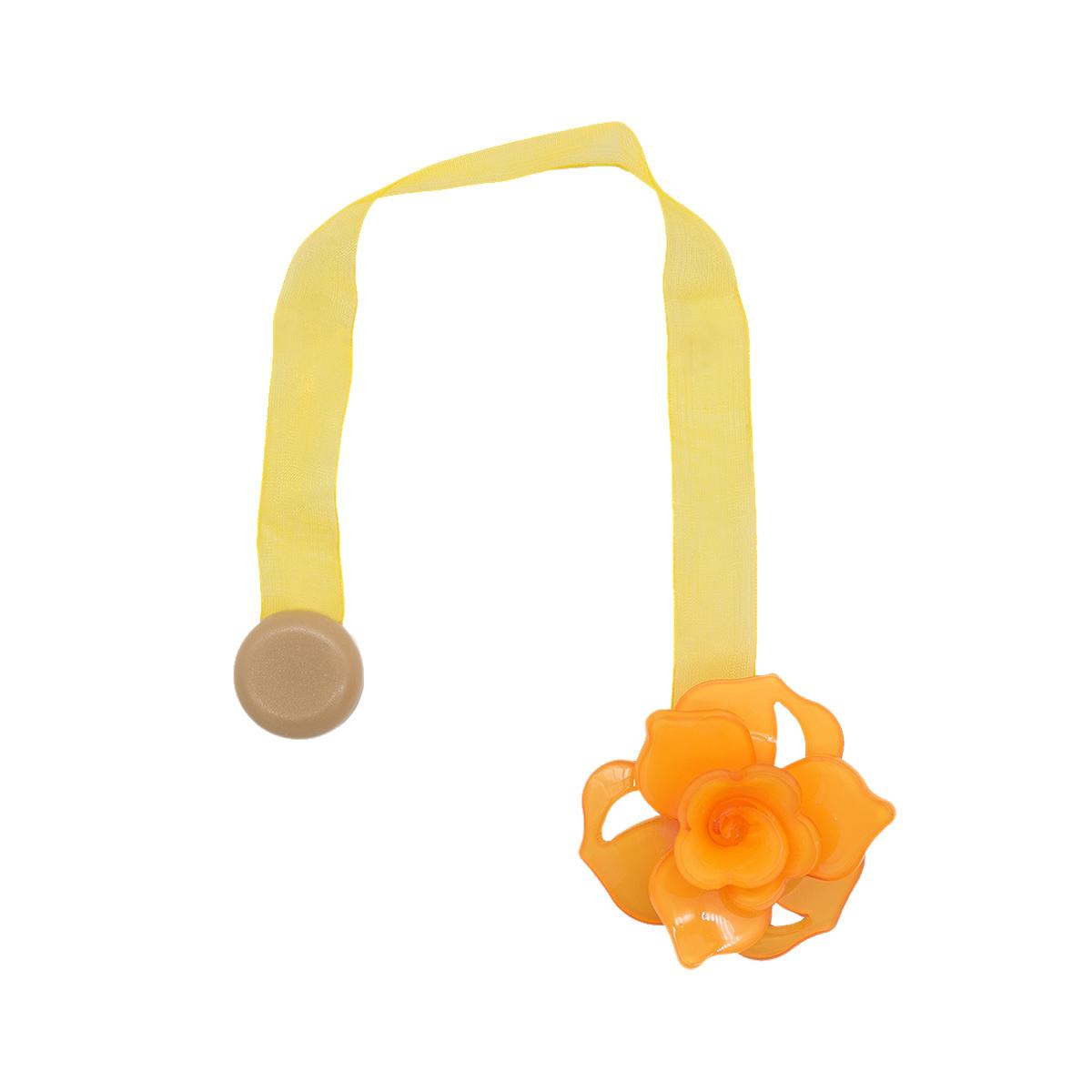 Клипса-магнит PL04 для штор (2 оранжевый)