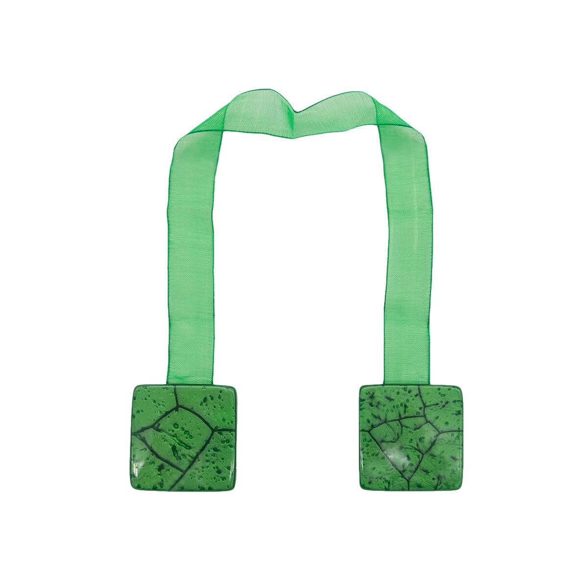 Клипса-магнит W55 для штор (1 зеленый)