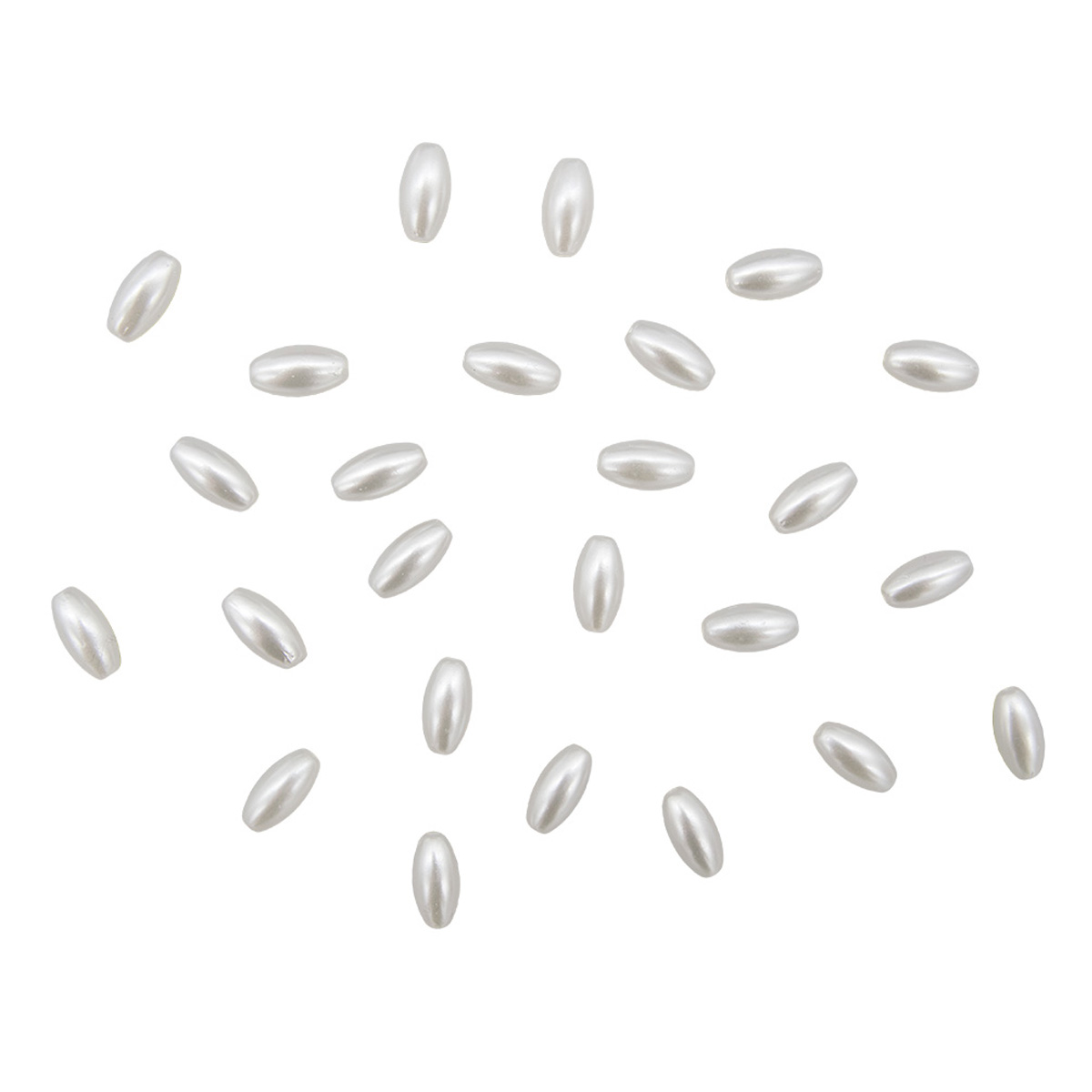 Бусины пластиковые, 2379#, 6*11,5 мм, упак./115 шт., 'Астра'
