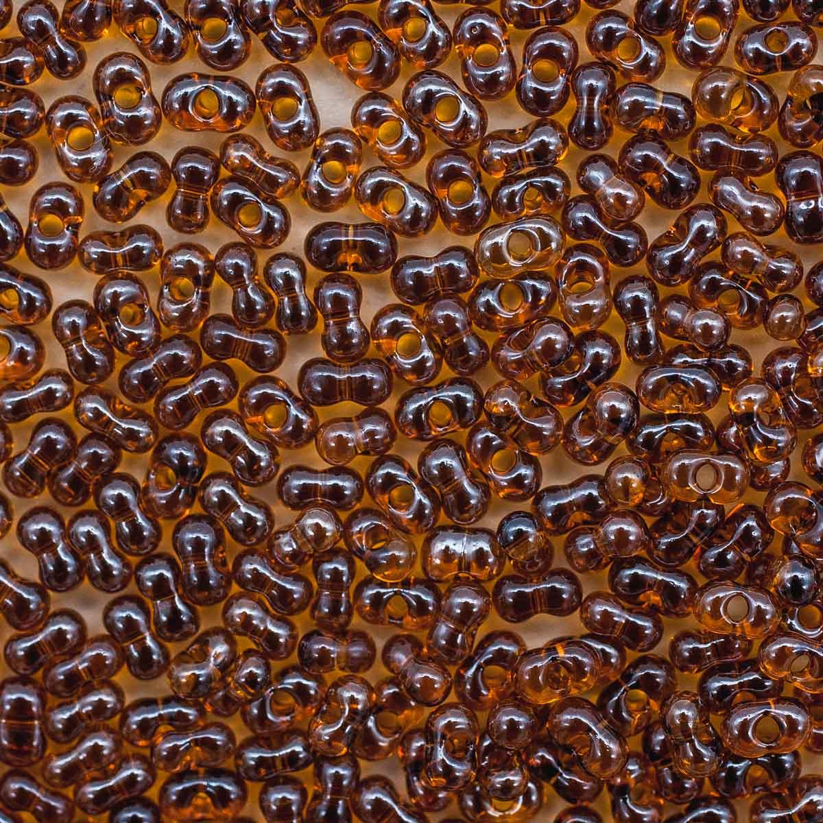 Бисер Farfalle 2/4мм (16090) прозрачный с покрытием, 50гр Preciosa