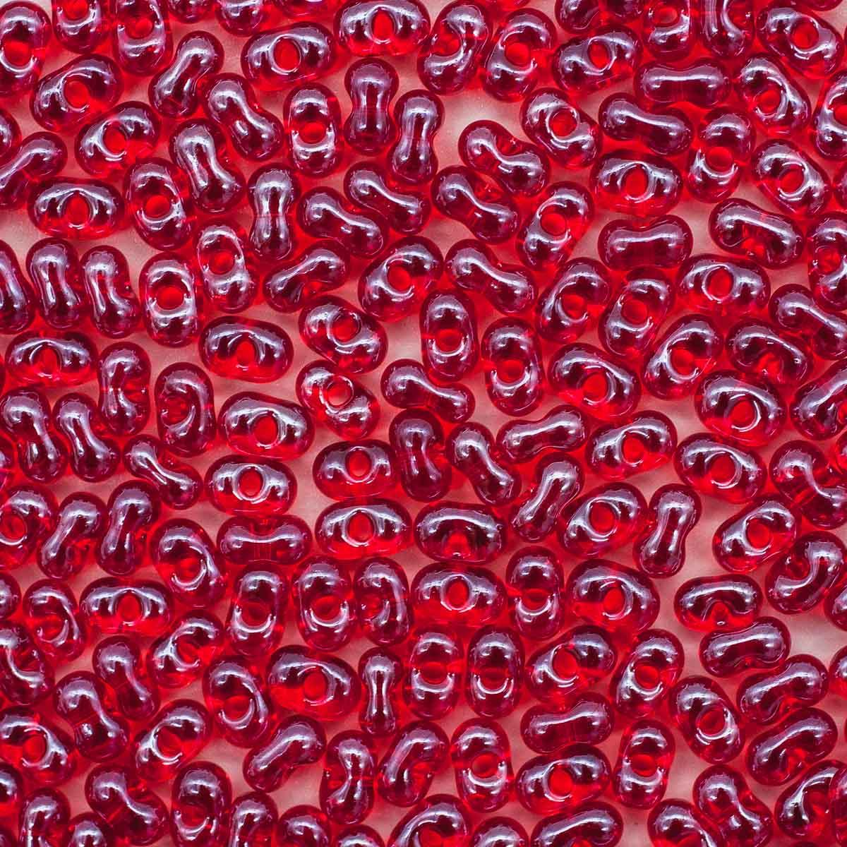 Бисер Farfalle 3,2/6,5мм (96070) прозрачный с покрытием, 50гр Preciosa