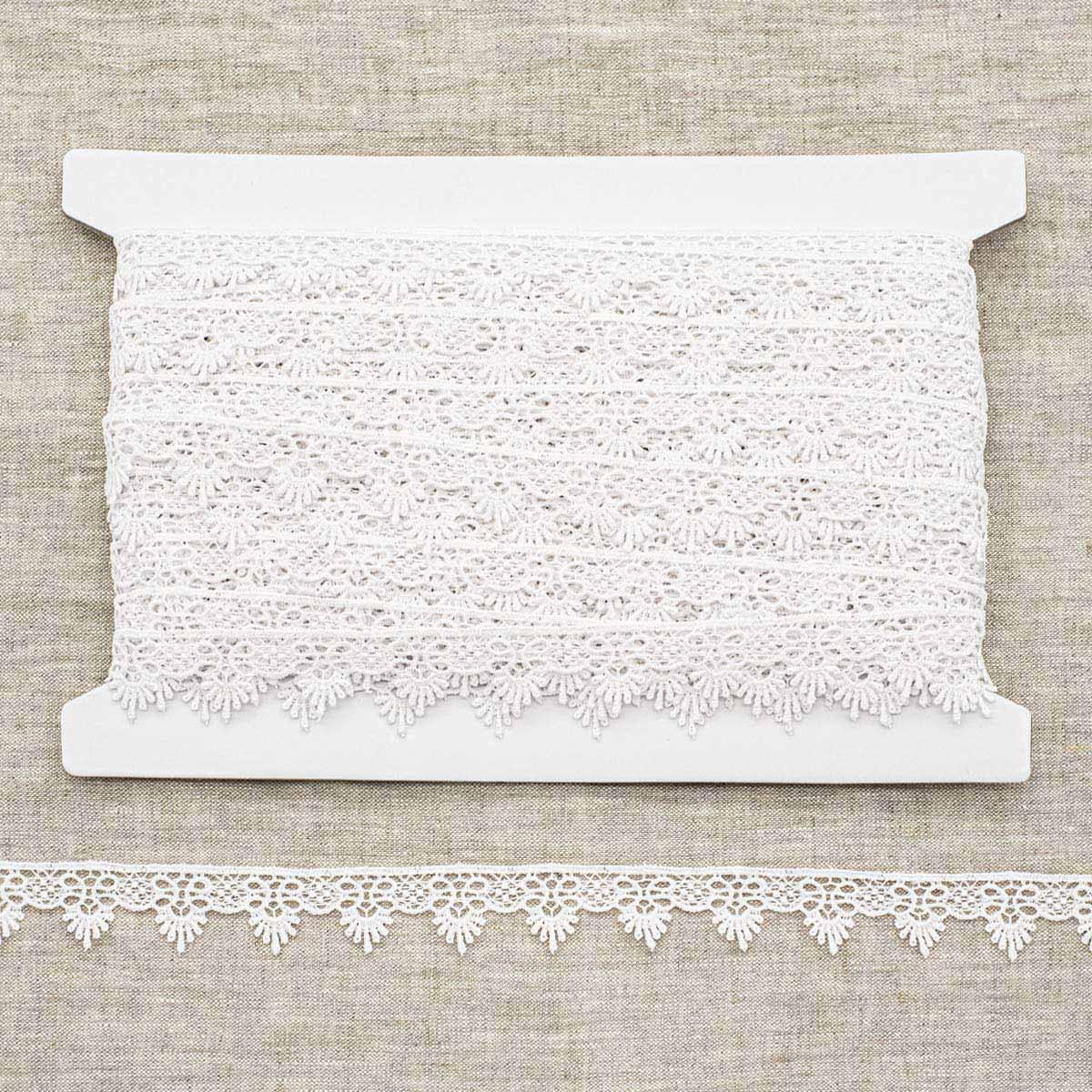 LACH0114 Кружево вязаное, 2,5 см*25 м