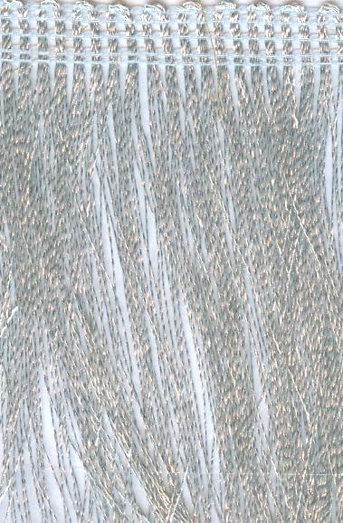 323 Бахрома металлизированная, 70 мм*16,4 м, 'Астра'