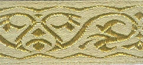 1975 Тесьма жаккардовая, 30 мм*8,2 м, 'Астра'