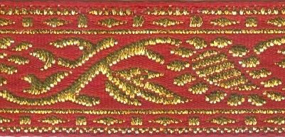 1878 Тесьма жаккардовая, 25 мм*16,4 м, 'Астра'
