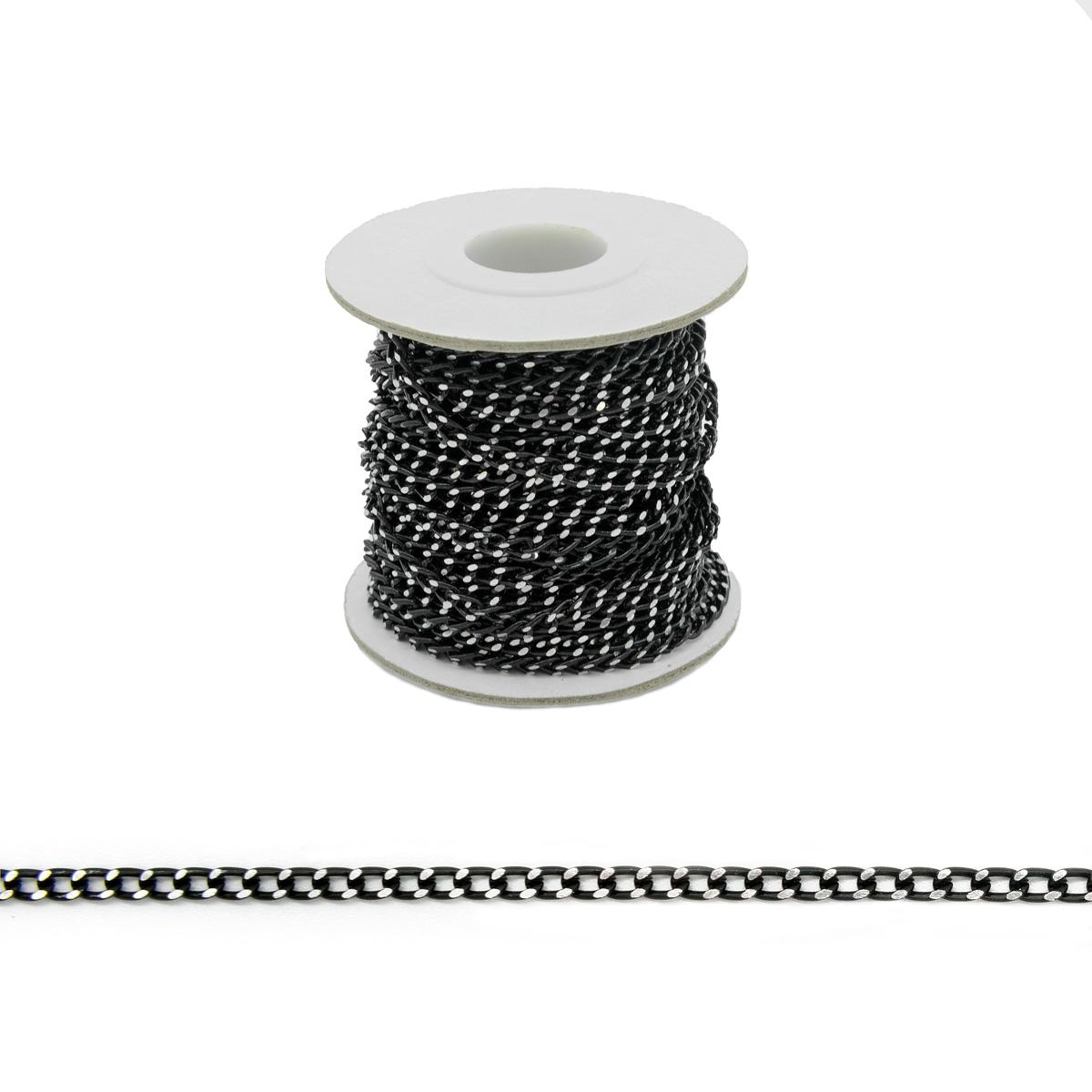Цепь алюминиевая К21601, 5*3,6мм, 10