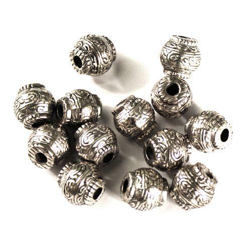 4902 Бусины под металл, 13*12 мм, упак./21 шт., 'Астра'
