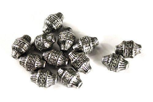 3819 Бусины под металл, 15*10 мм, упак./25 шт., 'Астра'
