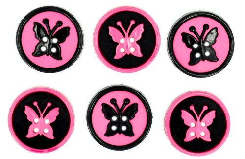 5879, Декоративные пуговицы Бабочки Dress It Up