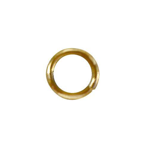 Кольцо для бус, 0,7*5 мм, упак./100 шт., 'Астра'