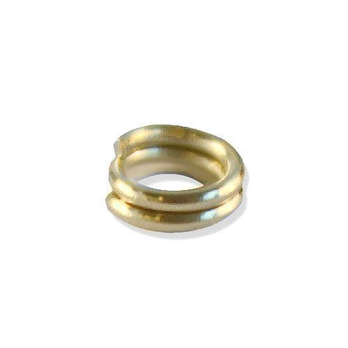 OTH1524 Кольцо для бус, двойное, 0,7*5 мм, упак./100 шт., 'Астра'