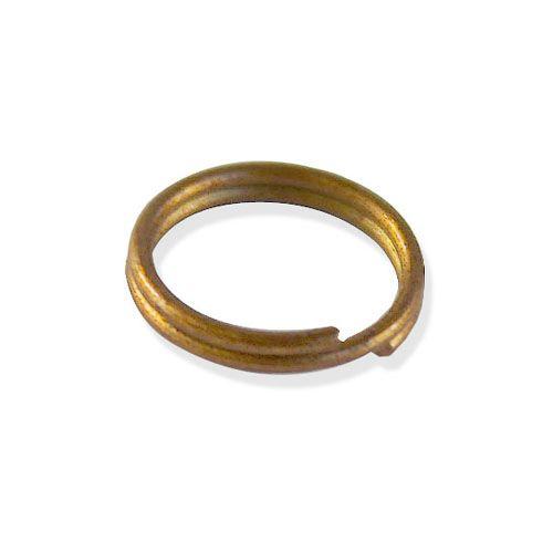OTH1526 Кольцо для бус, двойное, 0,8*10 мм, упак./100 шт., 'Астра'