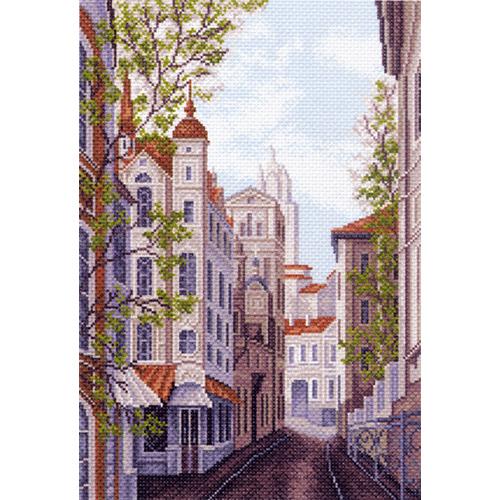 1482 Набор для вышивания 'Матренин Посад' 'Московские улочки', 27*39 см