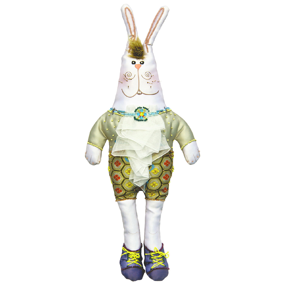 8001 Набор для шитья и вышивания 'Матренин посад' текстильная игрушка 'Зайка Харитон', 47*22 см