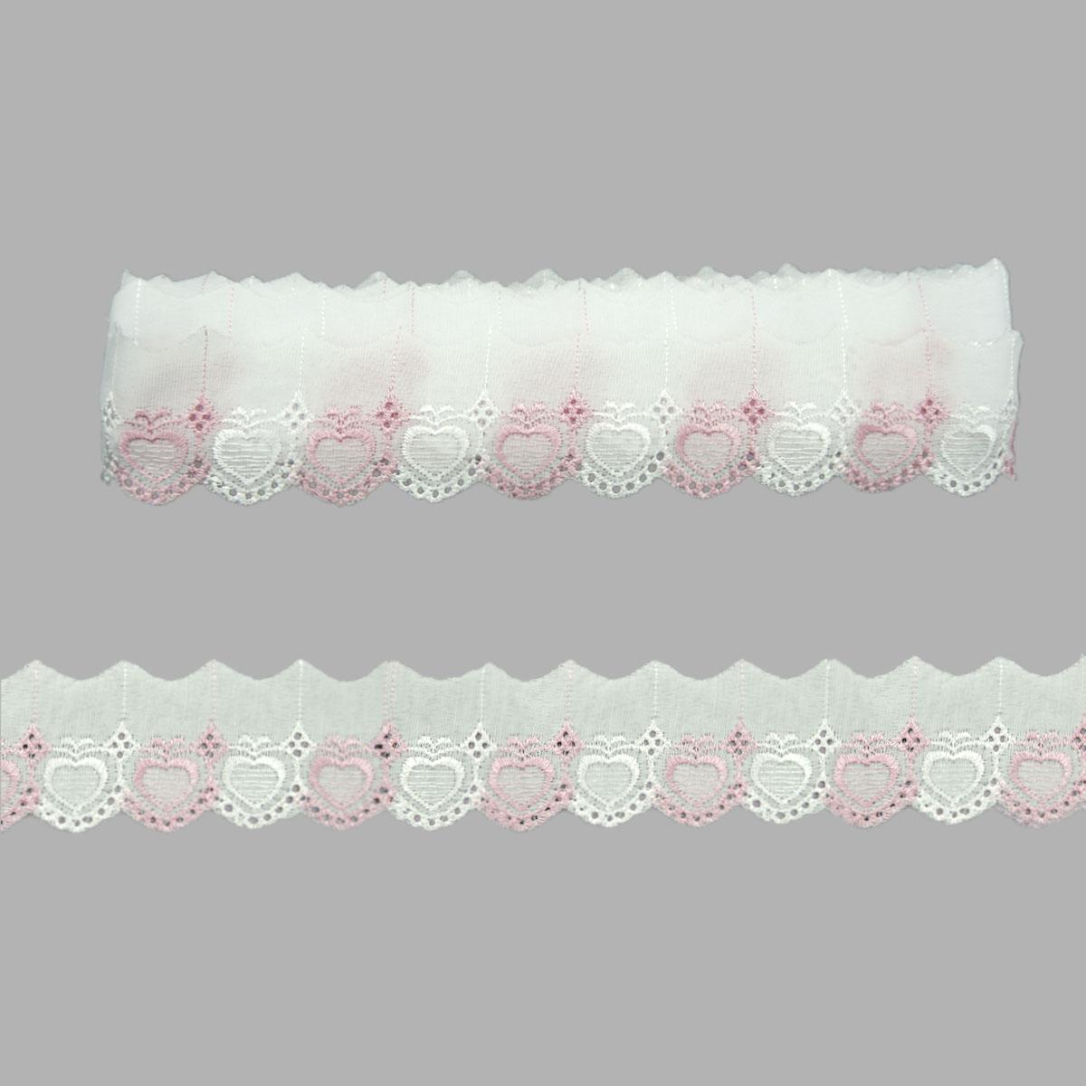 Шитье 420, 5,5см*9м Астра (розовый) фото