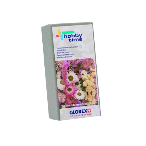 63804720 Флористическая пена для сухих цветов 23х11х7,5 см Glorex