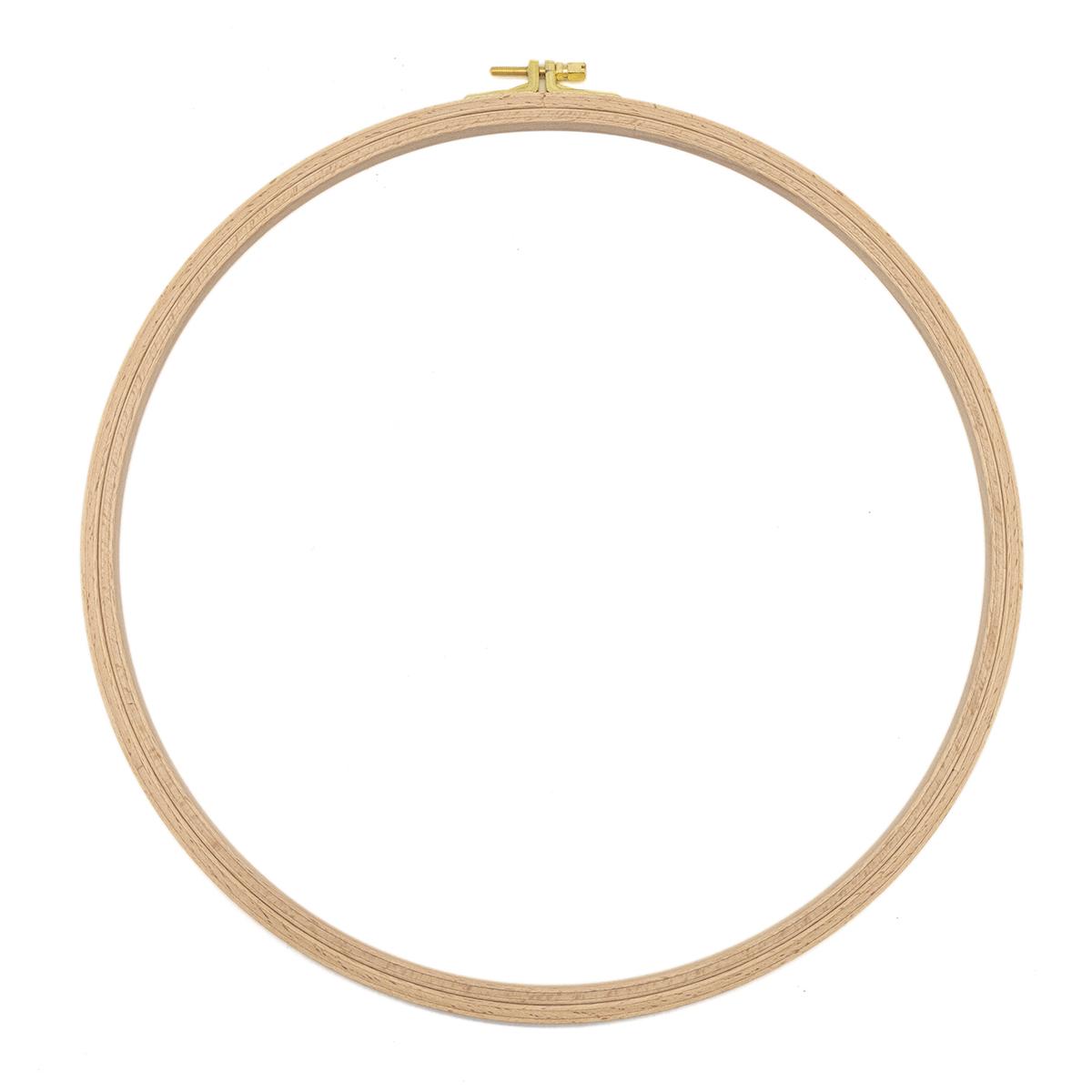 100-8 Пяльцы круглые буковые, d=310 мм, выс. обода 8 мм, Nurge Hobby
