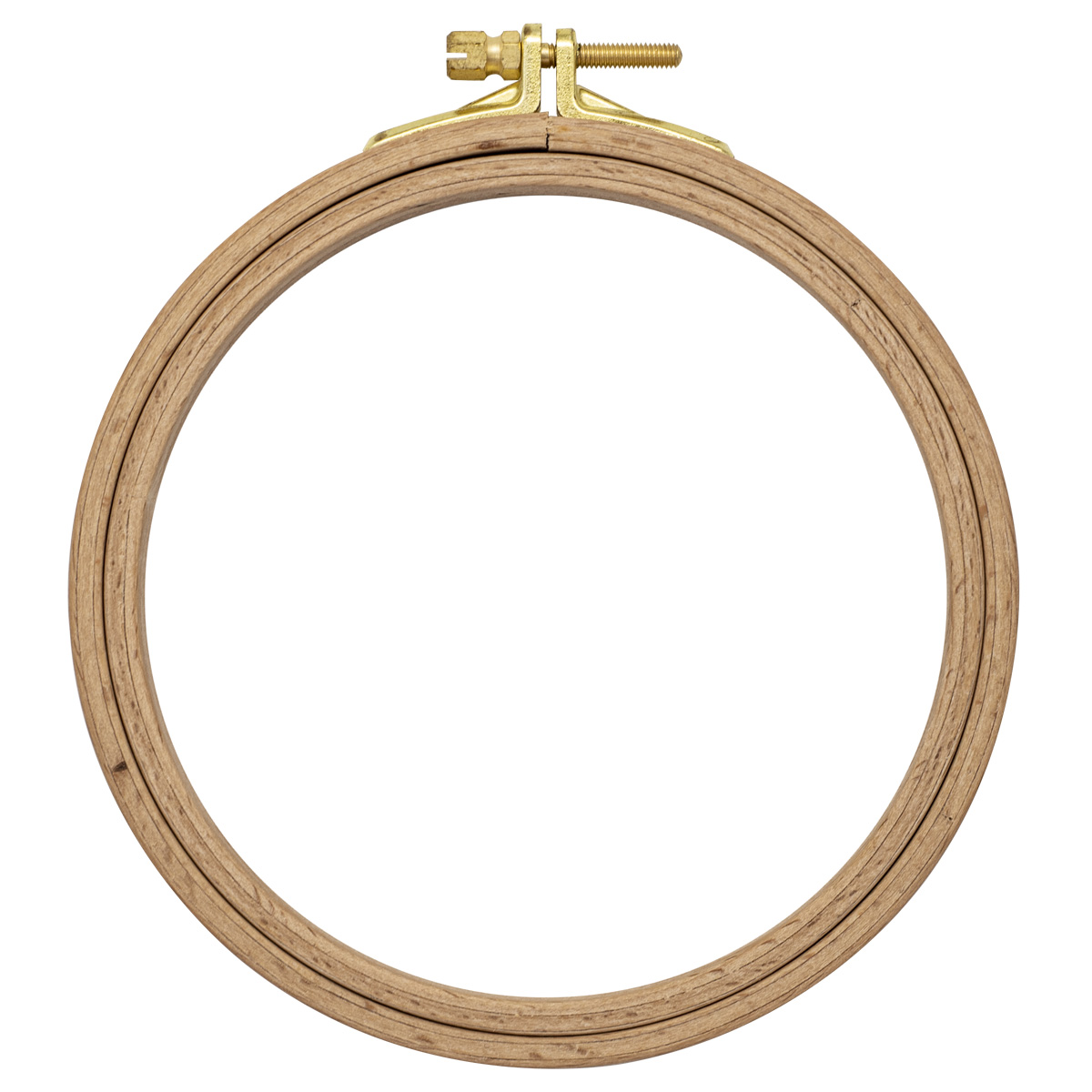 110-2 Пяльцы круглые буковые, d=130 мм, выс. обода 16 мм, Nurge Hobby