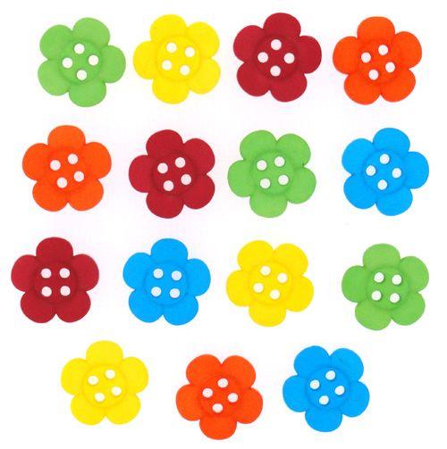 6945, Декоративные пуговицы. Цветы Dress It Up