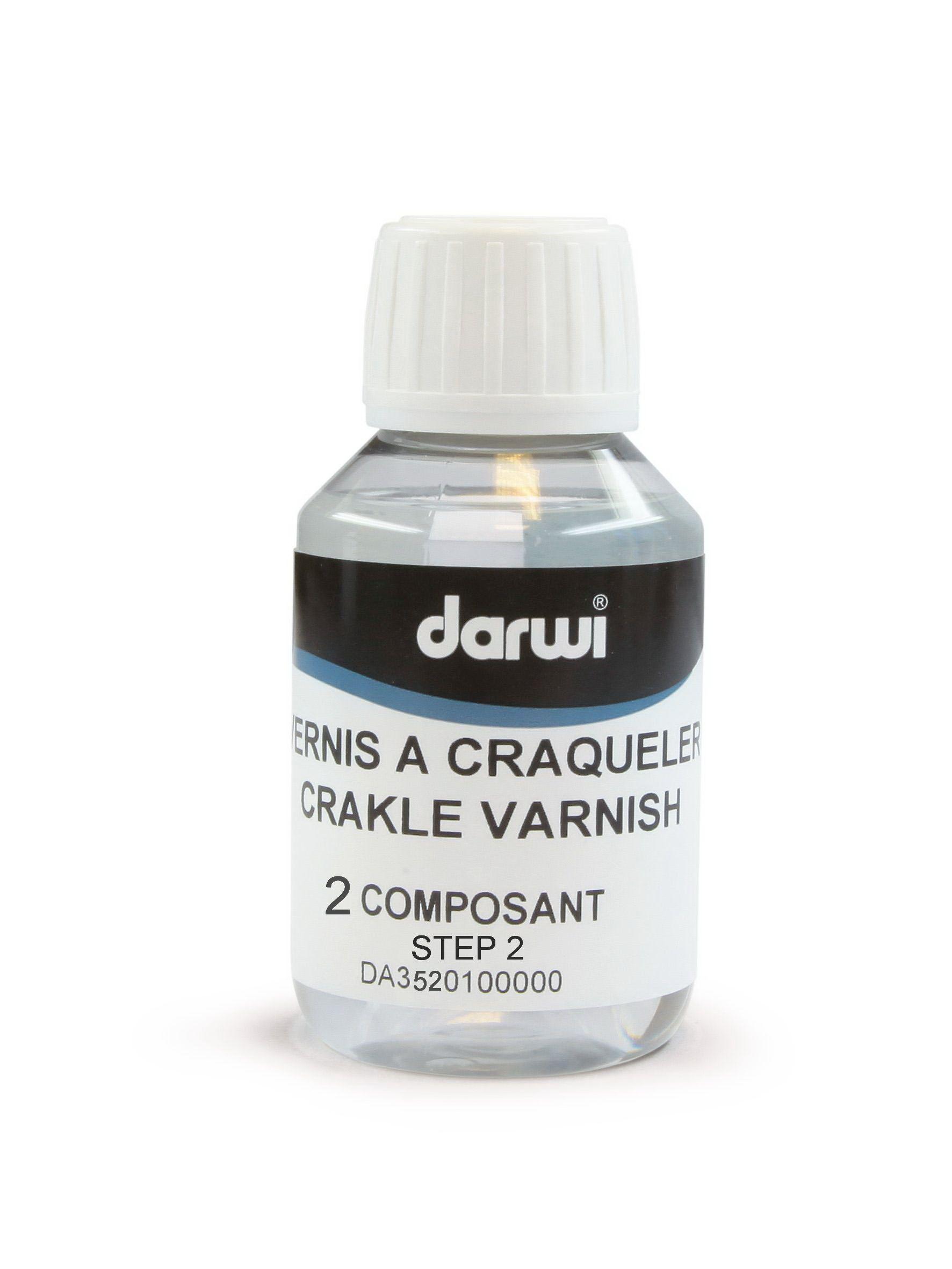 DA3520100000 Лак-кракелюр двухшаговый (шаг 2) 100 мл. Darwi