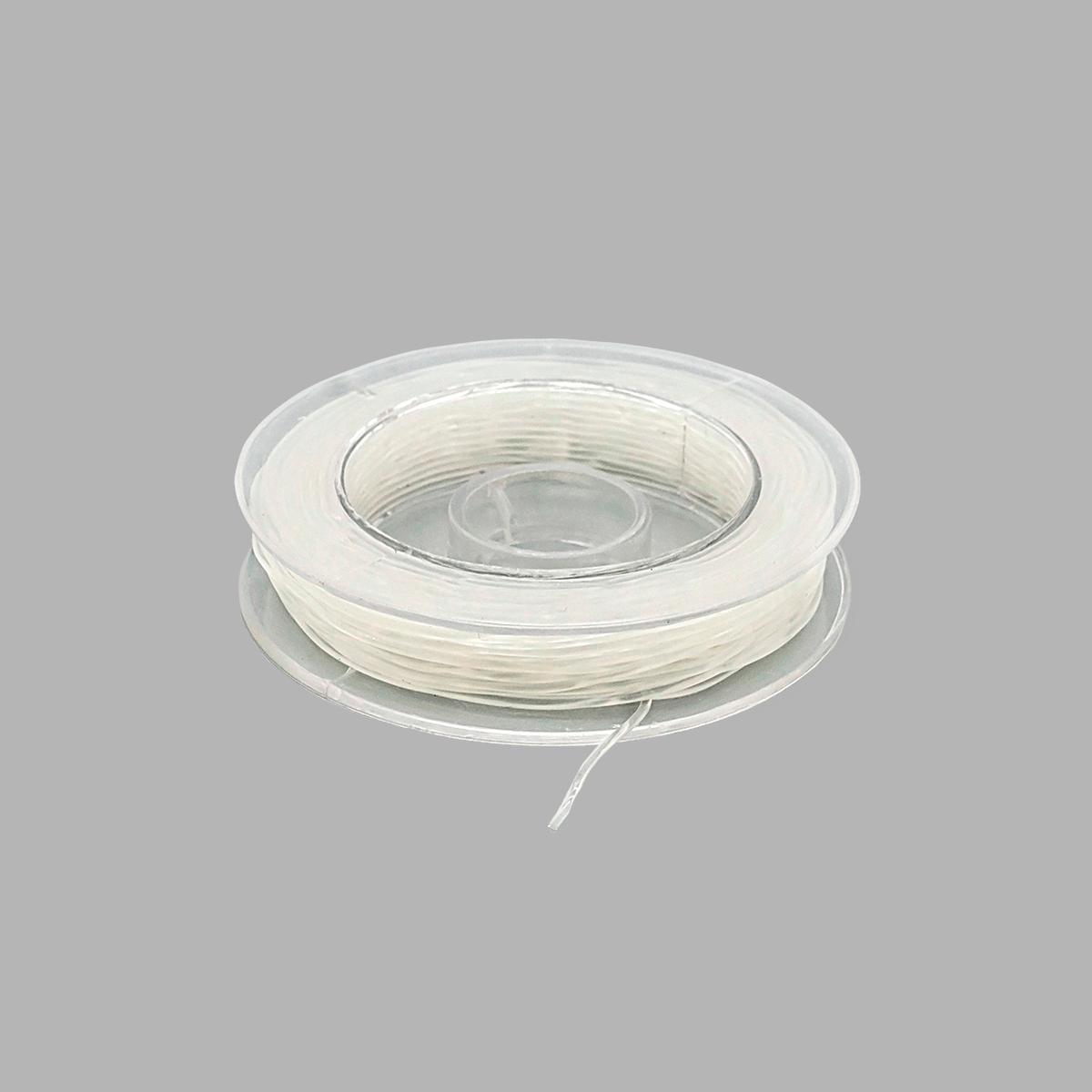 Нить силиконовая для бисера, 0,8 мм*10 м