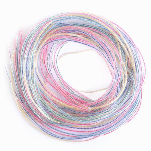 Трубочки для плетения цветные со стержнем, 1 м, упак./15 шт., 'Астра'