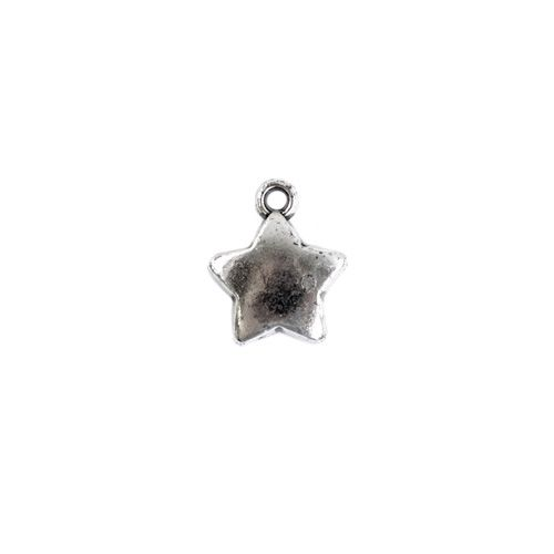 3185, Подвеска декоративная 'Звезда', 18*6,5мм, 20 шт