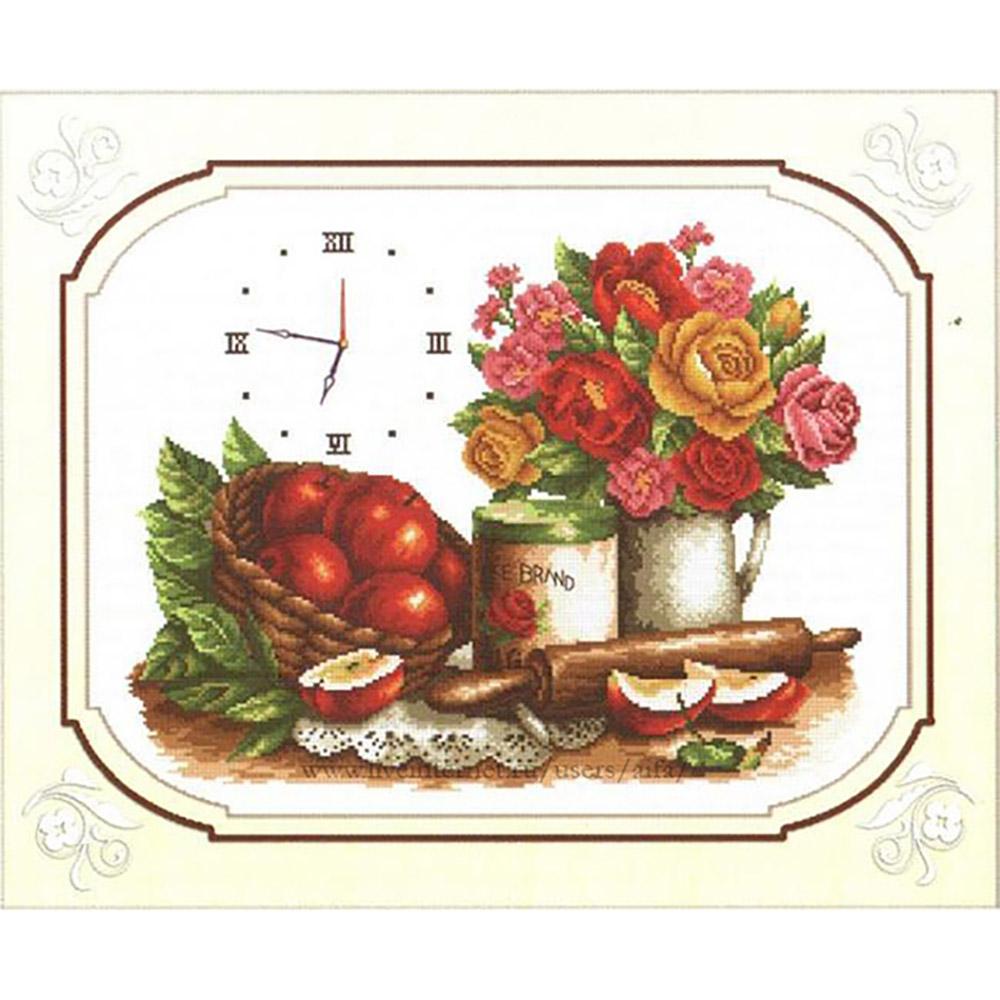 """Набор для вышивания крестом S-038 """"Время обедать"""", 39х30 см, Hobby&Pro"""