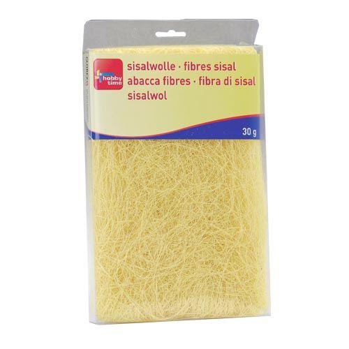 63807002 Сизаль, 30г, лимонный желтый Glorex