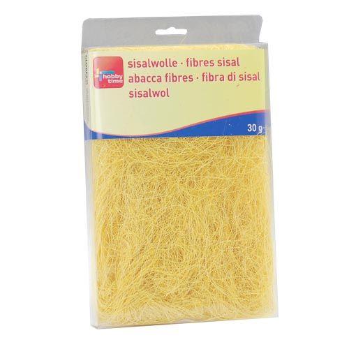 63807003 Сизаль, 30г, желтый Glorex
