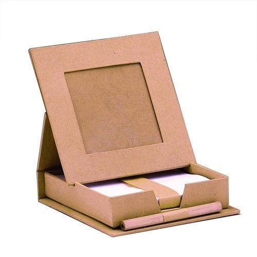 62031115 Деревянная заготовка 'Бокс для записок с листами и ручкой', 11,5*11,*3 см, Glorex