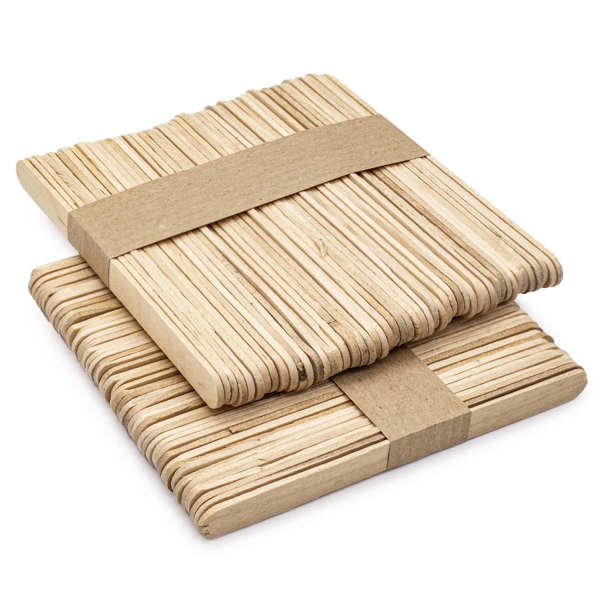 62200654 Шпатель деревянный (береза), 11см, упак./100 шт., Glorex