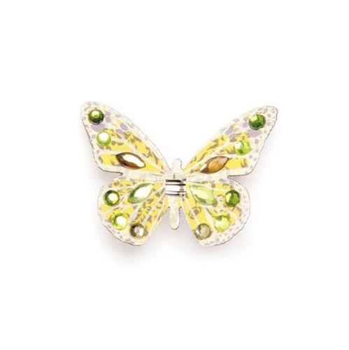 67101204 Бабочки со стразами и клипсой Glorex