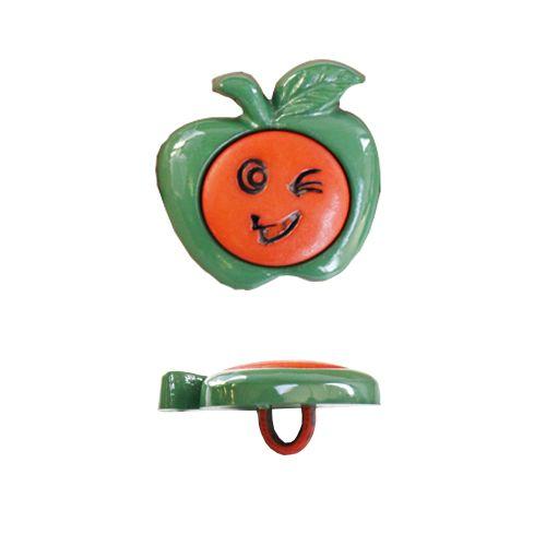 Пуговица, Смешное яблоко (48271) 21мм